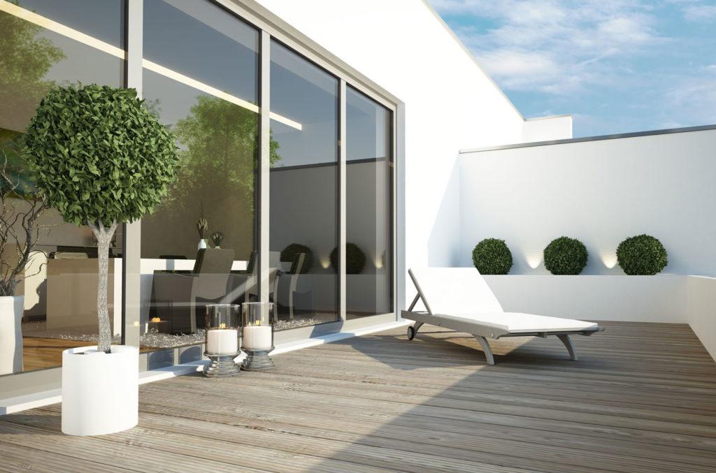 solbeskyttende glass